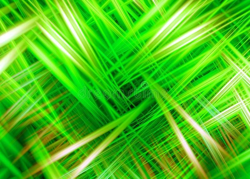 Le feu vert traîne le fond illustration de vecteur