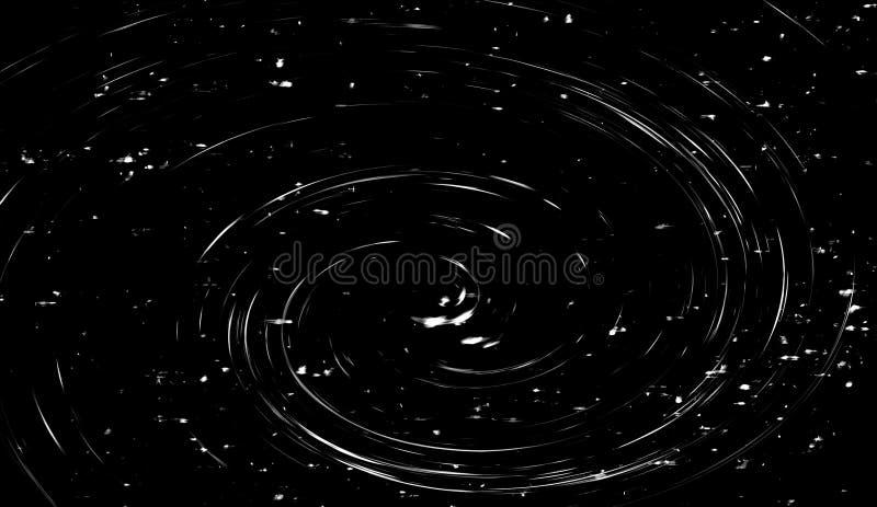 Le feu volant de braise al?atoire du feu suscite des particules d'isolement sur le fond noir pour la conception recouverte illustration de vecteur