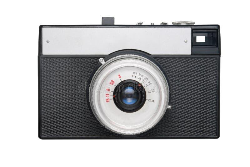 le film d'appareil-photo a isolé le blanc simple image stock
