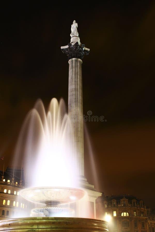 Le fléau du Nelson dans le grand dos de Trafalgar photos stock