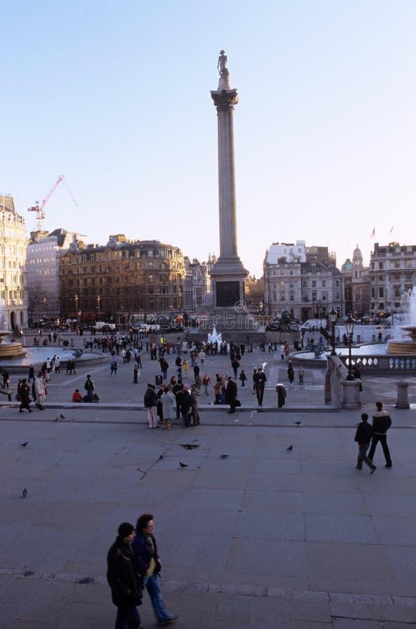 Le fléau du Nelson, Londres photos stock