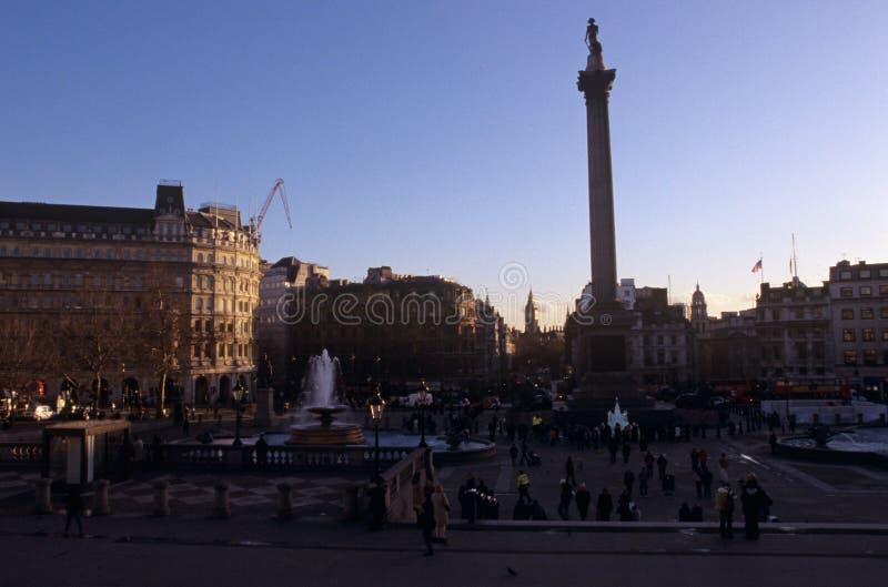 Le fléau du Nelson, Londres image libre de droits