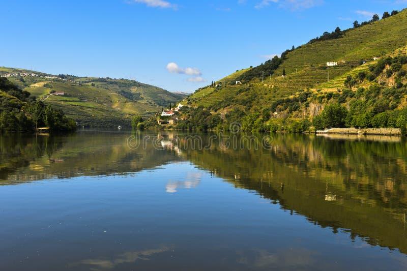 Le fleuve de Douro image stock