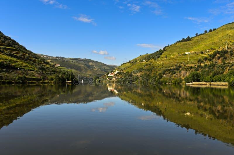 Le fleuve de Douro photo libre de droits
