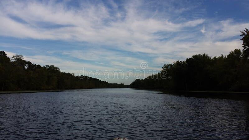 Le fleuve Mississippi le Wisconsin images stock