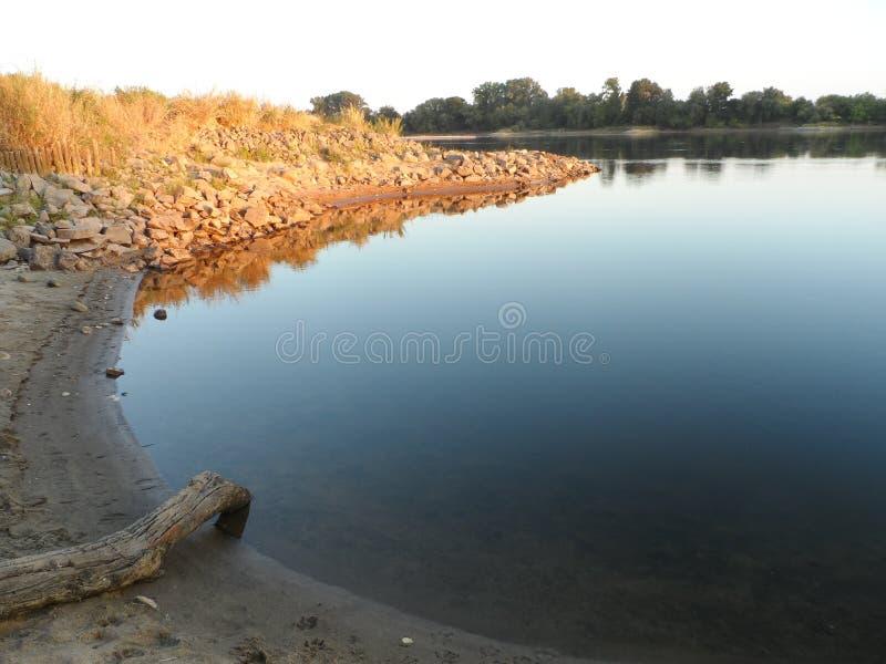 Le fleuve Vistule photo stock