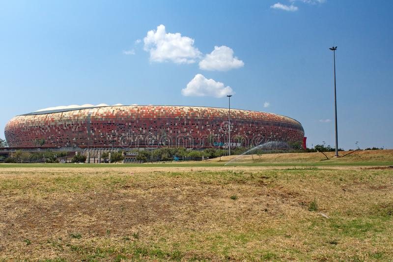 Le FNB Stadium photographie stock