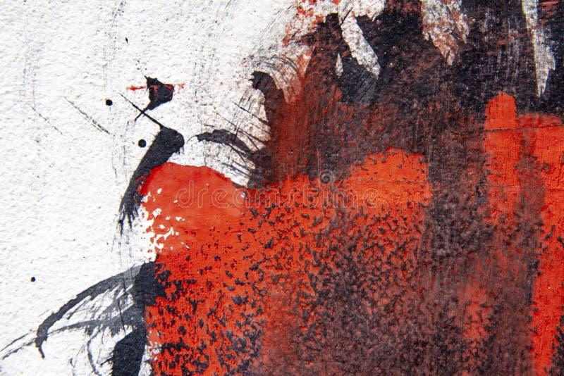 Le fond abstrait a fait à partir de la peinture photographie stock libre de droits