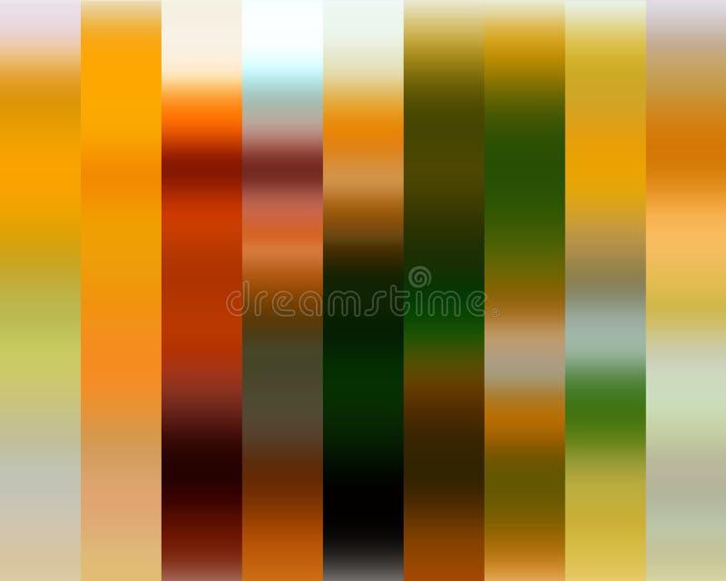 Le fond argenté de jaune d'or vert, couleurs, ombrage les graphiques abstraits Fond et texture abstraits illustration stock