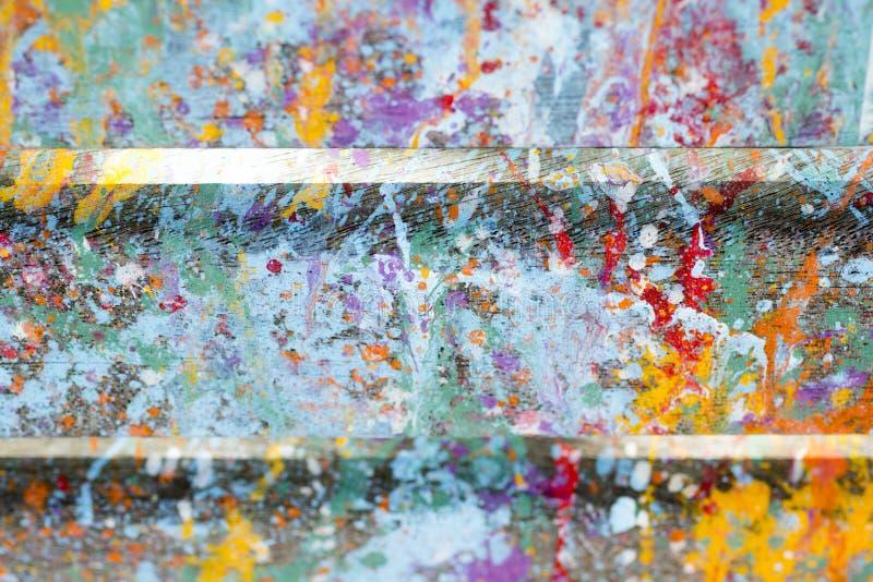 Le fond artistique abstrait avec éclabousse de la peinture photo stock