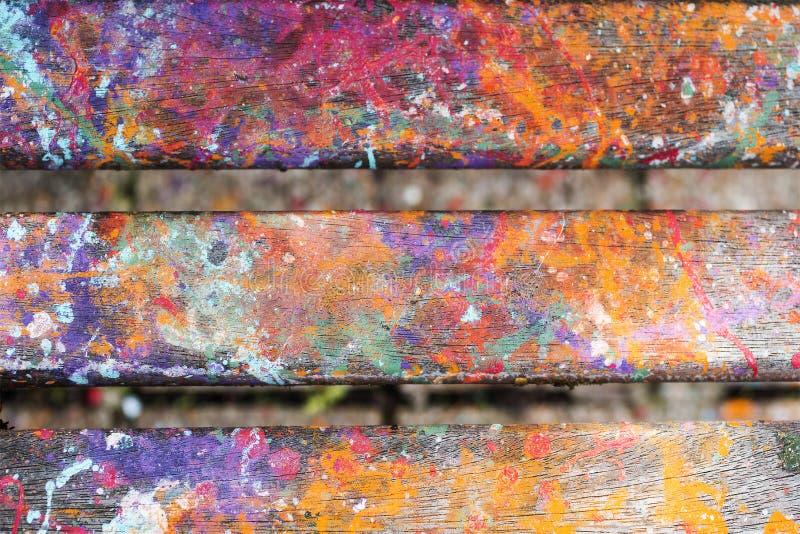 Le fond artistique abstrait avec éclabousse de la peinture image libre de droits