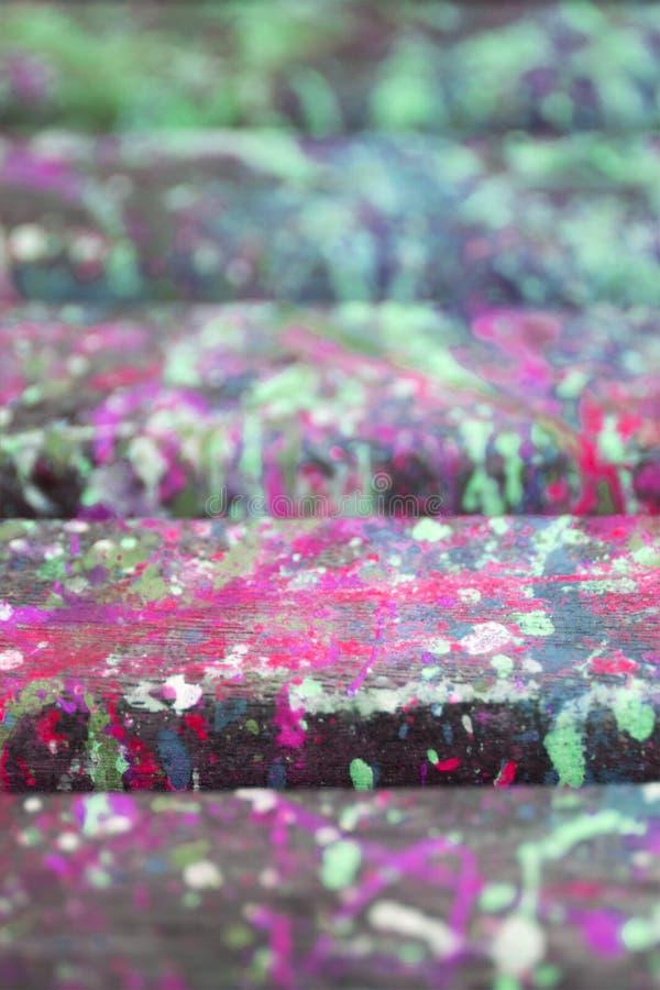 Le fond artistique abstrait avec éclabousse de la peinture images stock