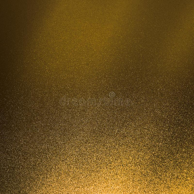 Le fond de scintillement d'or et l'étincelle de texture brillent le miroitement d'or photo stock