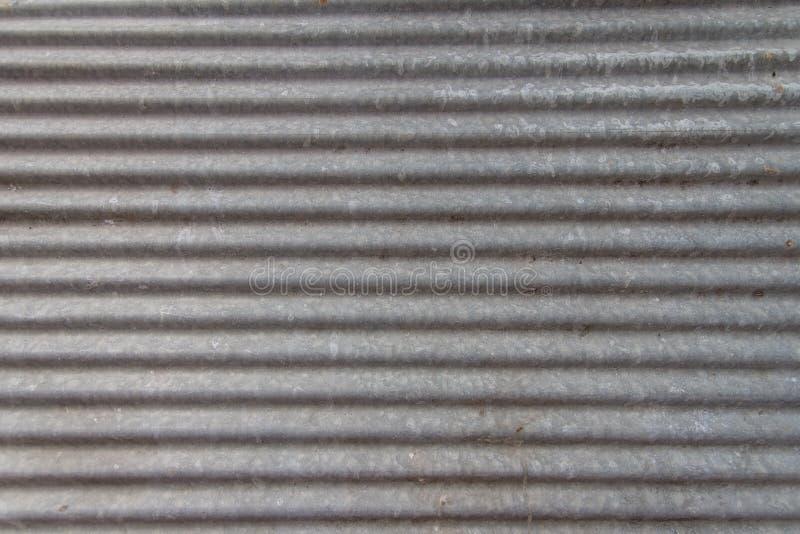 Le fond de texture de feuilles de zinc semble nouveau photographie stock libre de droits