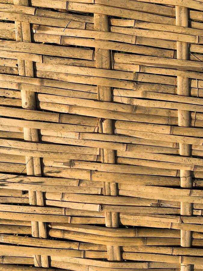 Le fond en bambou d'armure photos libres de droits