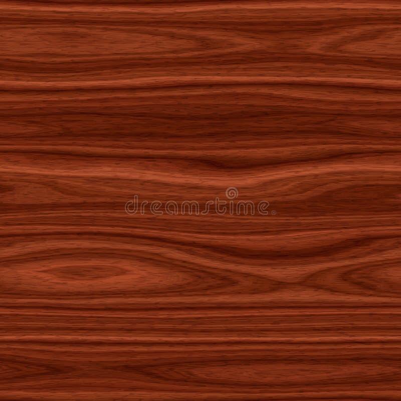 Le fond en bois - lissez la texture sans couture extérieure en bois illustration libre de droits
