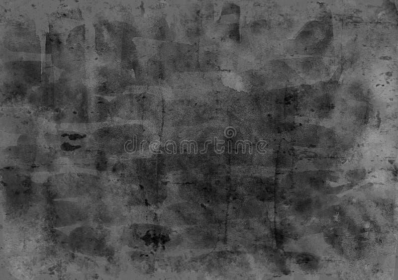 Le fond foncé abstrait de texture de mur en béton pour des intérieurs wallpaper la conception de luxe photographie stock libre de droits