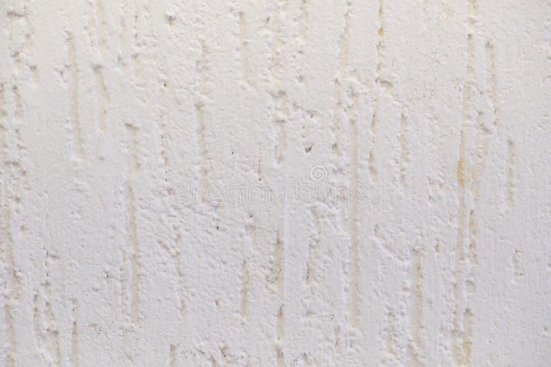Le fond grunge blanc de texture de mur en béton créent du matériel de ciment de plâtre dans le rétro modèle pour la décoration ar photographie stock libre de droits