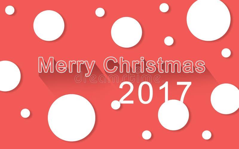 Le fond heureux de Joyeux Noël illustration libre de droits