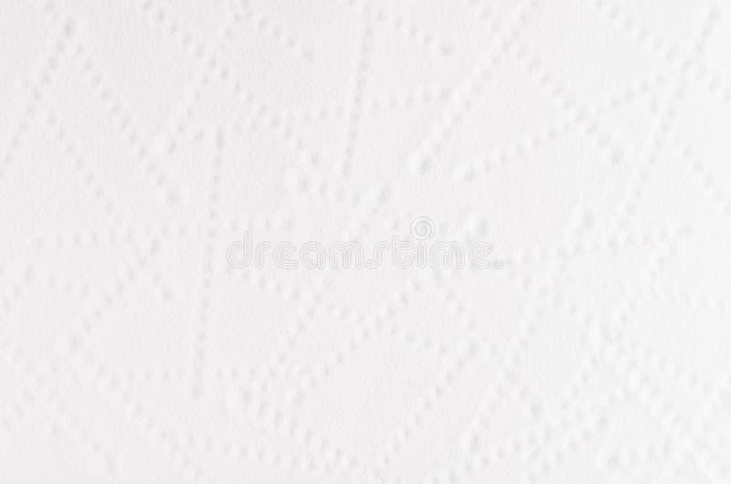 Le fond mou grenu abstrait blanc avec les points géométriques raye photographie stock libre de droits
