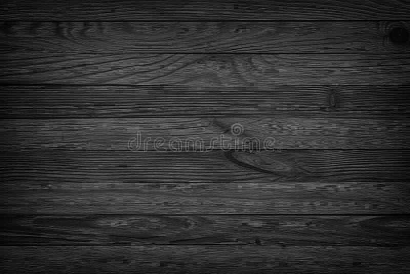 Le fond noir a vieilli le fond sans couture de texture en bois, obscurité courtisent images libres de droits