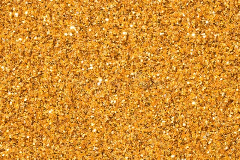 Le fond ou la partie élégant de confettis d'étincelle de scintillement d'or invitent pour le joyeux anniversaire, texture d'or ét photo stock