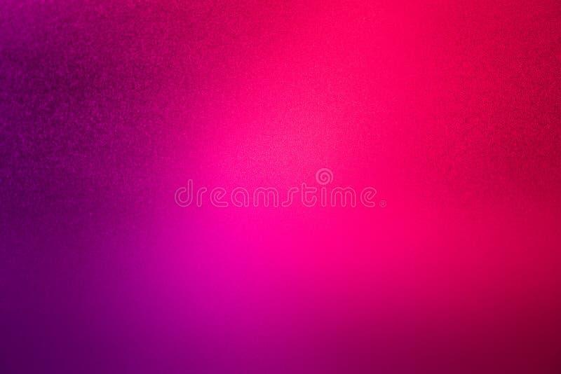 Le fond pourpre rose a brouillé le textu rouge-clair d'abrégé sur gradient image libre de droits