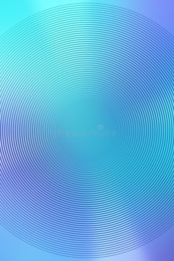 Le fond radial de gradient, ciel bleu, brouillent l'abr?g? sur mol doux papier peint de texture Lumi?re douce photographie stock