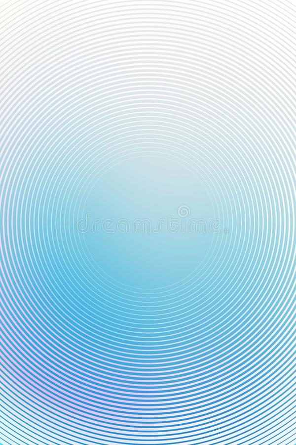 Le fond radial de gradient, ciel bleu, brouillent l'abr?g? sur mol doux papier peint de texture rougeoyer photos stock