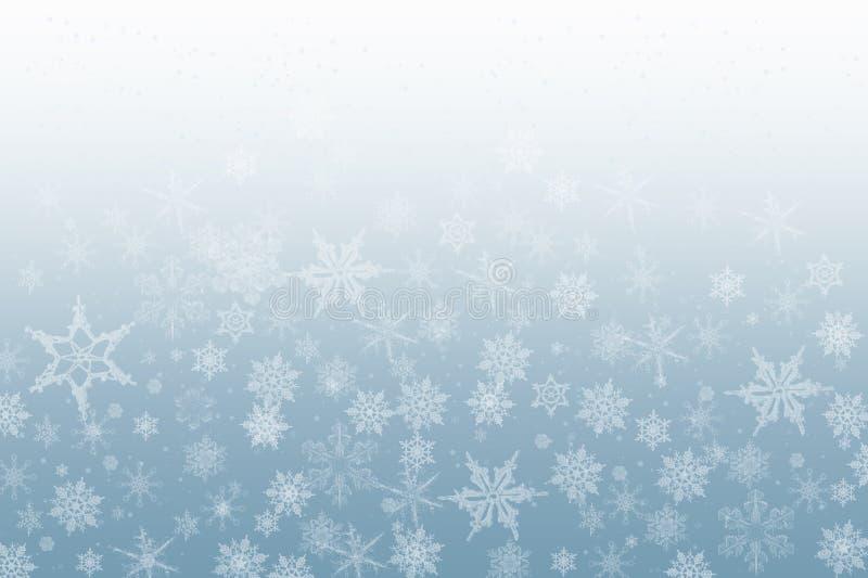 le fond s'écaille neige illustration de vecteur