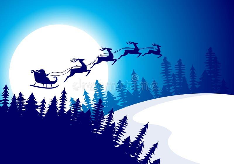 le fond soit peut nuit d'illustration de conception de Noël a utilisé le votre illustration libre de droits