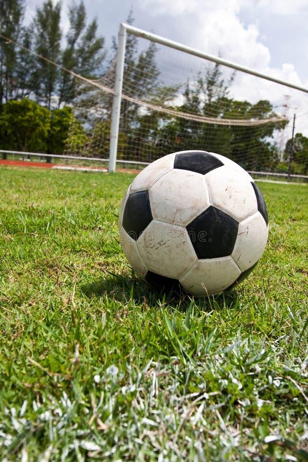 Le football photo libre de droits