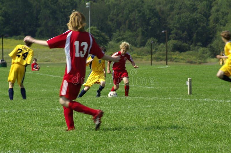 Le football 2006-1 de la jeunesse images stock