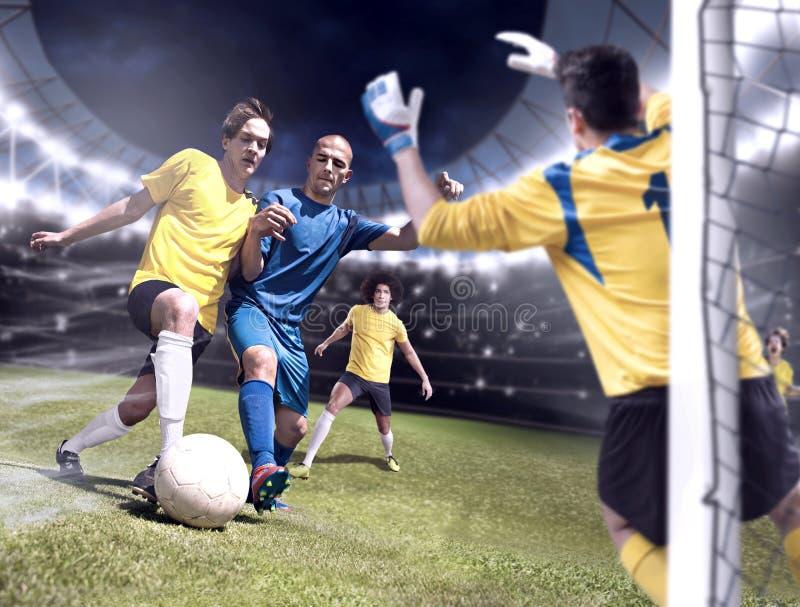 Le FOOTBALL (3) photos libres de droits