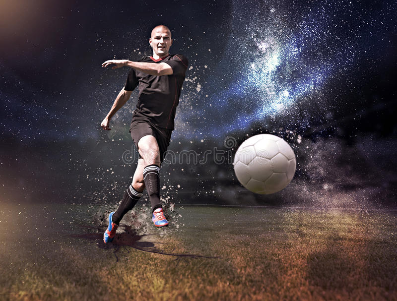 Le FOOTBALL (3) illustration stock