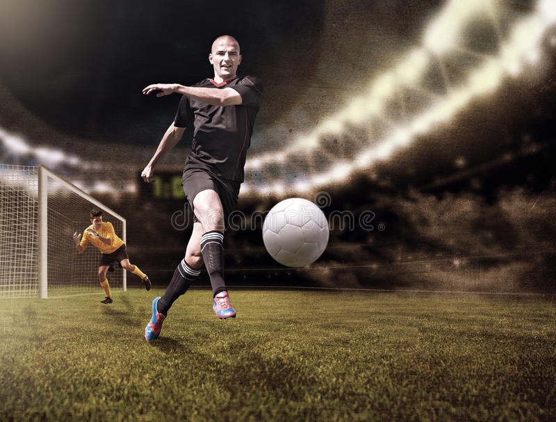 Le FOOTBALL (3) illustration libre de droits