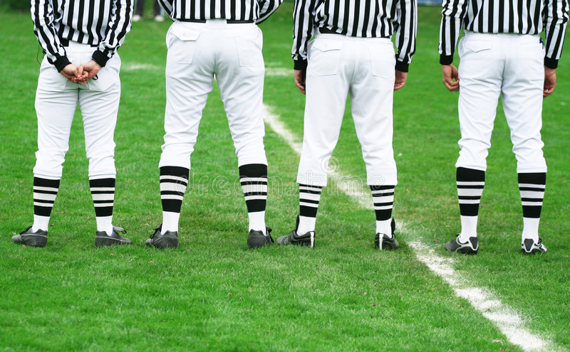 Le football - arbitre de sport photo libre de droits