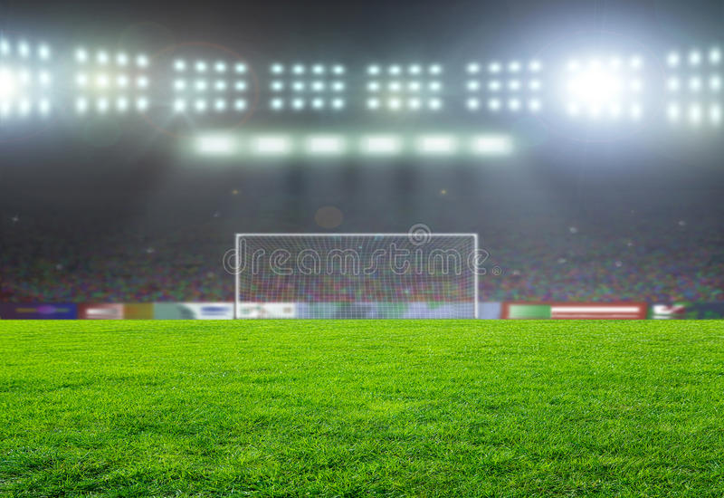Le football bal photo libre de droits