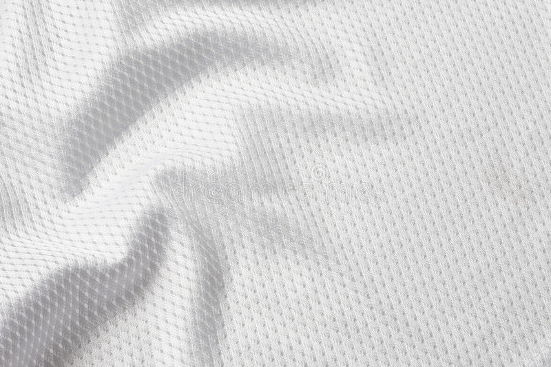 Le football blanc Jersey image stock