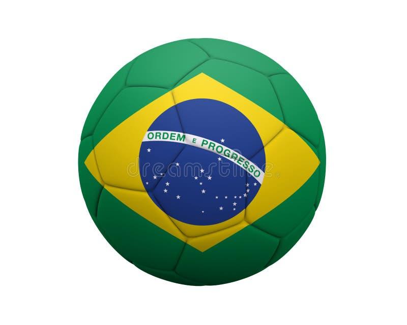 Le football brésilien photo stock