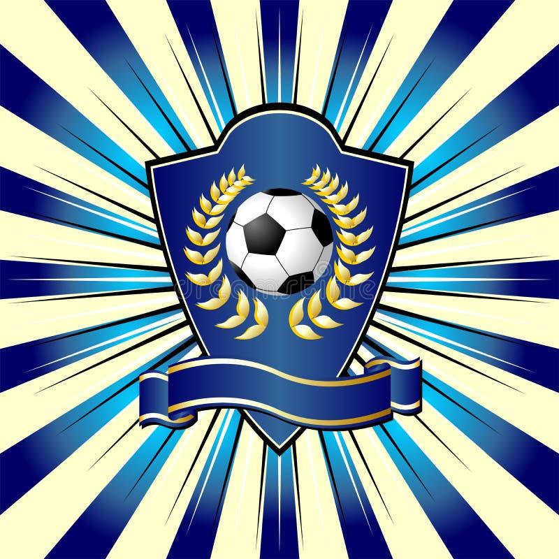 le football d'écran protecteur illustration libre de droits