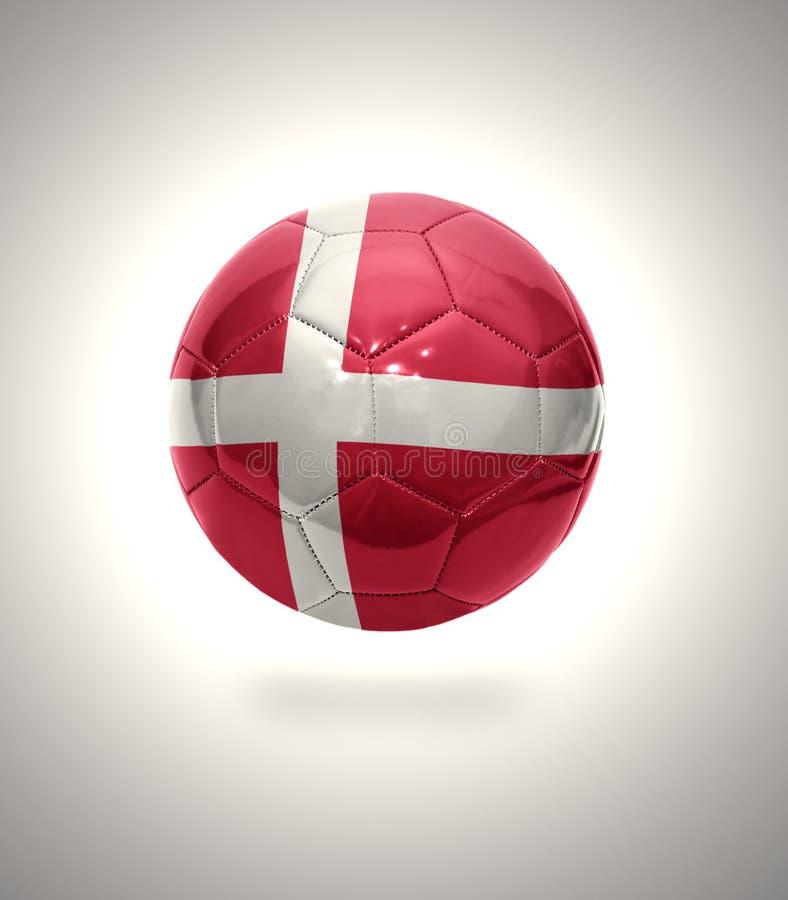 Le football danois illustration stock