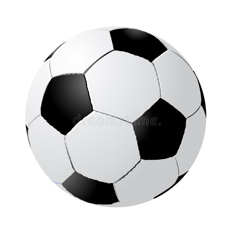 le football de bille illustration libre de droits