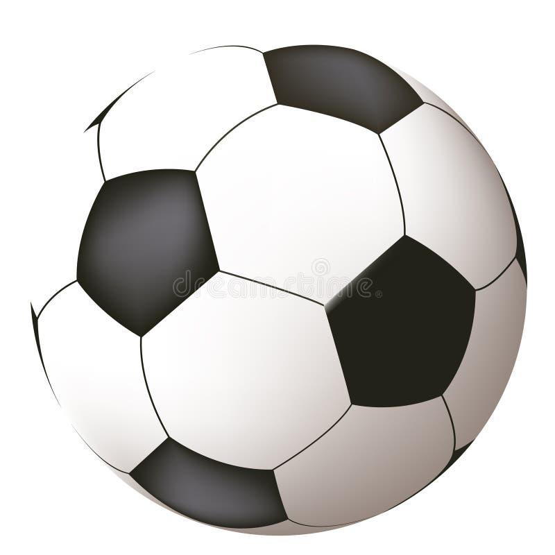 le football de bille illustration de vecteur