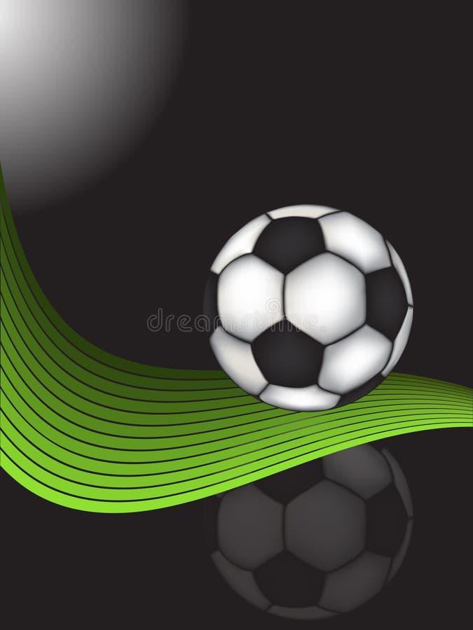 Download Le football de bille illustration stock. Illustration du personne - 8653447