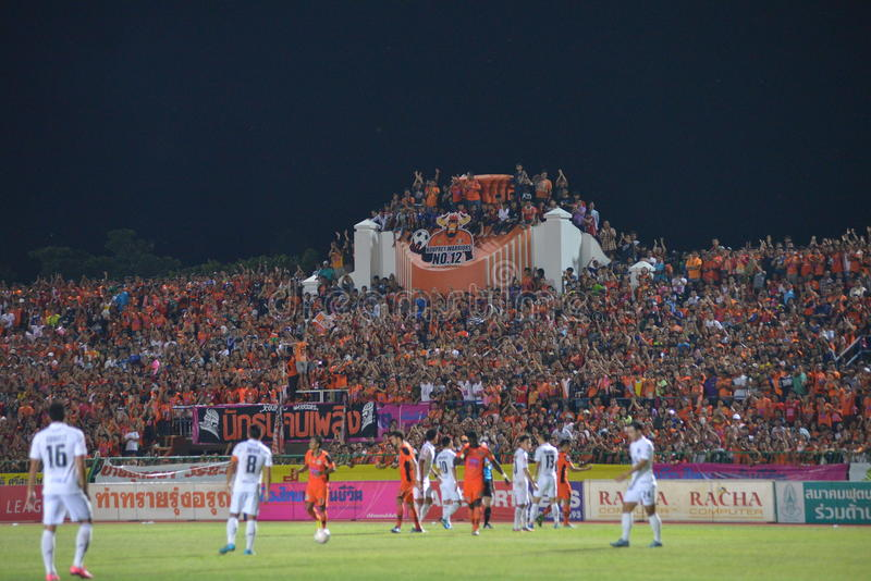 Le football de la Thaïlande image stock