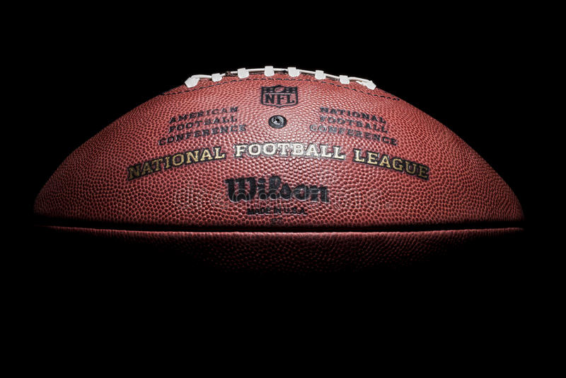 Le football de NFL photo stock