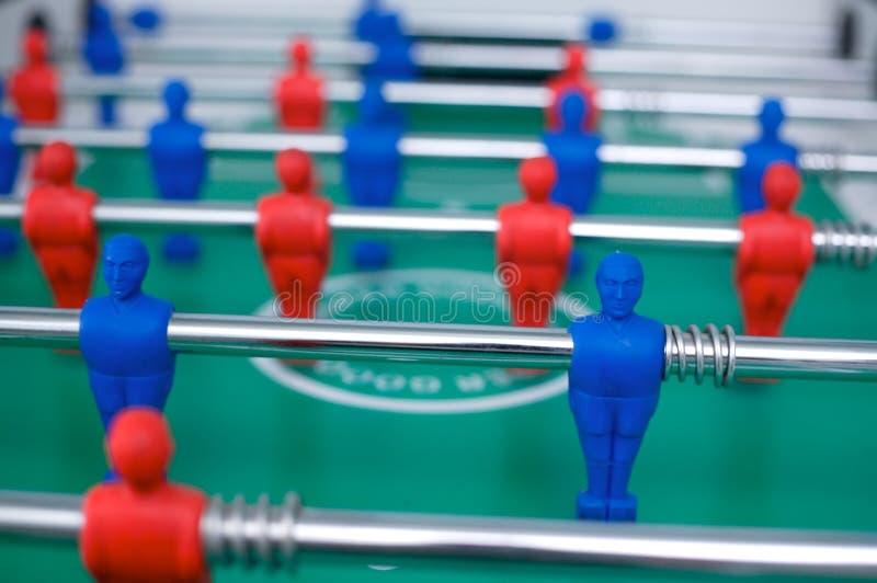 Le football de table photo libre de droits