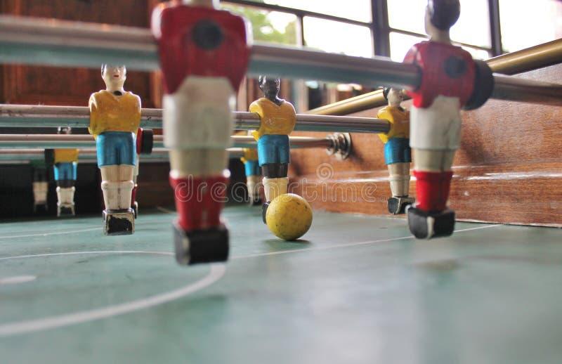 Le football de table du Brésil Foosball du football photo libre de droits