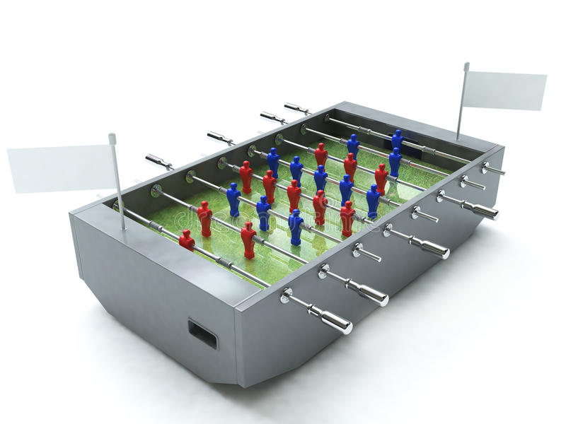 Le football de Tableau illustration stock